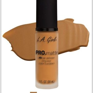 LA girl pro matte foundation bronze amaris beauty