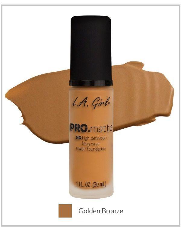 LA girl pro matte foundation bronze amaris beauty