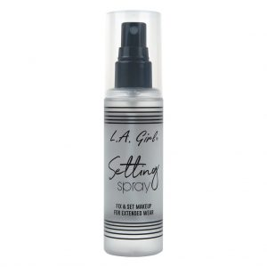 setting spray LA girl amaris beauty solutions